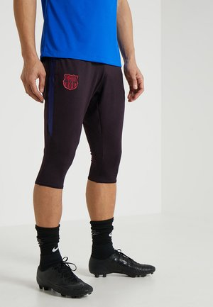 FC BARCELONA DRY PANT  - 3/4 sports trousers - burgundy ash/deep royal blue/noble red