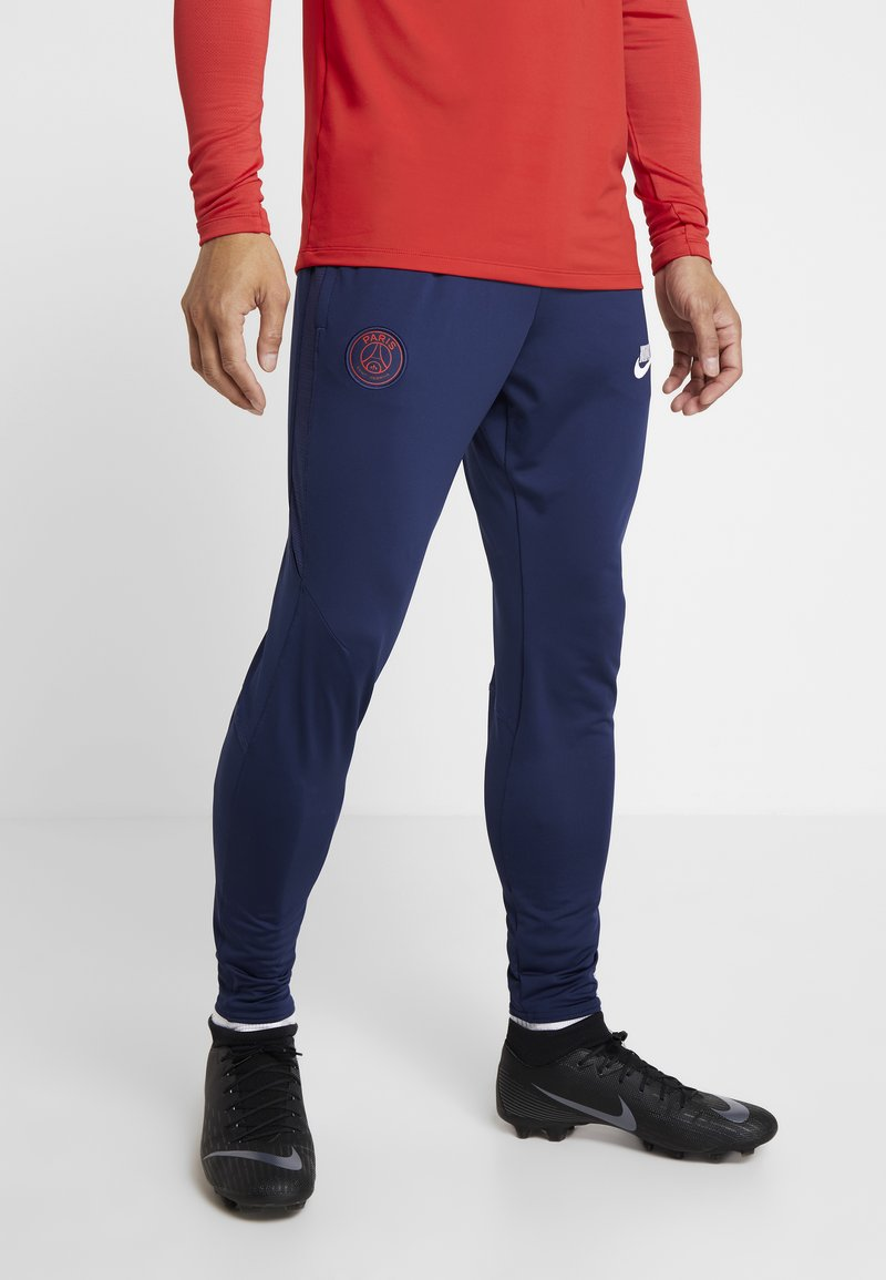 Nike Performance - PARIS ST GERMAIN DRY PANT - Klubtrøjer - midnight navy/white