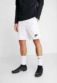 Nike Performance - PARIS ST. GERMAIN DRY SHORT - Sports shorts - white/pure platinum/midnight navy - 0