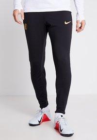 Nike Performance - INTER MAILAND DRY PANT  - Pantalones deportivos - black/truly gold - 0