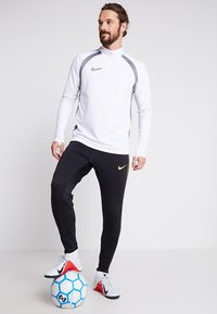 Nike Performance - INTER MAILAND DRY PANT  - Pantalones deportivos - black/truly gold - 1