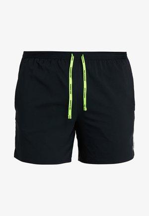 AIR FLEX STRIDE - Sports shorts - black/volt/silver