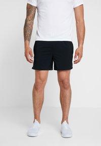 Nike Performance - AIR FLEX STRIDE - Sports shorts - black/volt/silver - 0