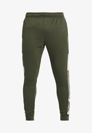 CAMO - Teplákové kalhoty - cargo khaki/black