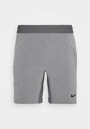SHORT YOGA - Träningsshorts - iron grey/grey fog/black