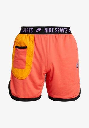 Short de sport - ember glow/kumquat/black/bright violet
