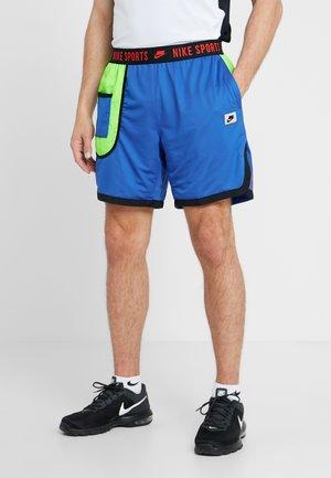 Sports shorts - game royal/electric green/black/habanero red