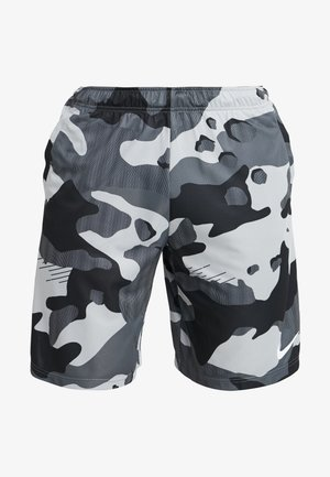 Short de sport - light smoke grey/white
