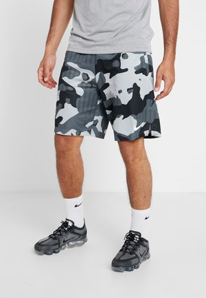 Träningsshorts - light smoke grey/white