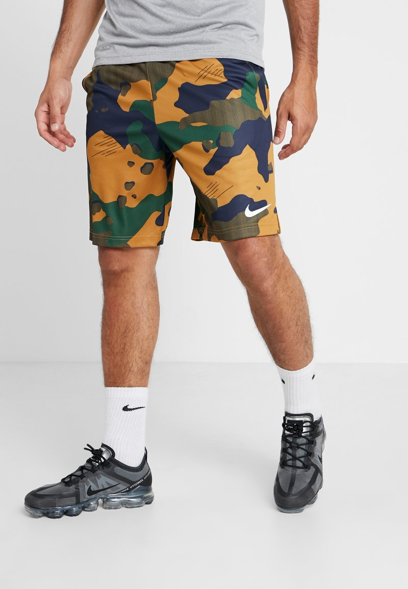 Nike Performance - Sports shorts - wheat/black