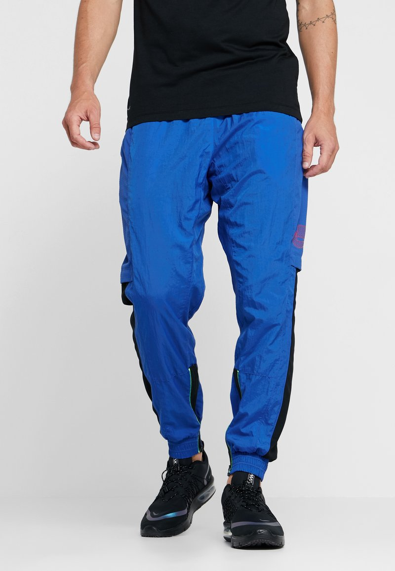 Nike Performance - FLEX PANT - Pantalones deportivos - game royal/electric green/black/habanero red