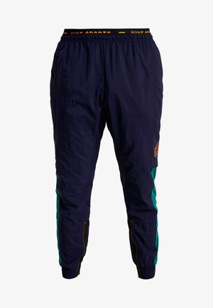 FLEX PANT - Verryttelyhousut - blackened blue/kumquat