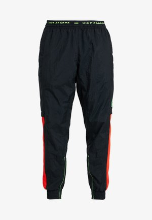 FLEX PANT - Jogginghose - black/sequoia/habanero red/electric green