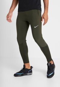 Nike Performance - ESSENTIAL PANT - Tracksuit bottoms - sequoia/reflective silver - 0