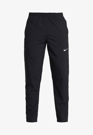 RUN STRIPE PANT - Tracksuit bottoms - black/silver