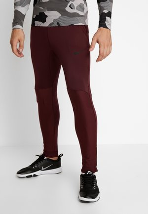 PANT - Pantalon de survêtement - night maroon