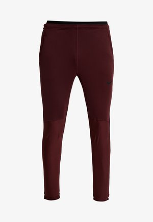 PANT - Tracksuit bottoms - night maroon