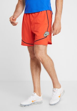 WILD RUN SHORT BRIEF - Sports shorts - habanero red/blackened blue