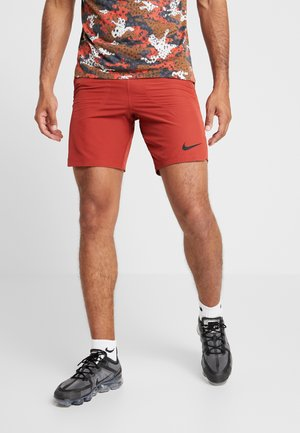 FLEX REPEL SHORT - Pantalón corto de deporte - dune red