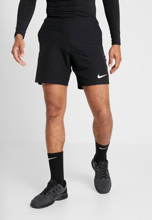 FLEX REP SHORT - kurze Sporthose - black