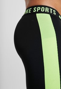 Nike Performance - Punčochy - black/sequoia/scream green - 6