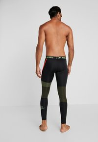 Nike Performance - Punčochy - black/sequoia/scream green - 4