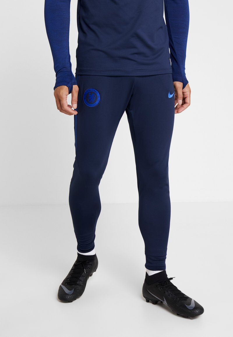 Nike Performance - CHELSEA FC DRY PANT - Tracksuit bottoms - obsidian/rush blue