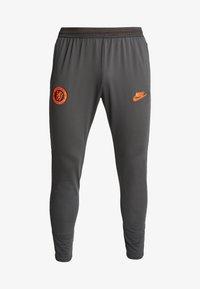 Nike Performance - CHELSEA LONDON FC DRY PANT - Fanartikel - anthracite/black/rush orange - 4