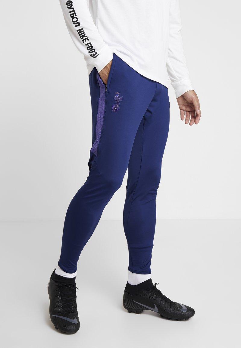 Nike Performance - TOTTENHAM HOTSPURS DRY PANT - Vereinsmannschaften - binary blue/action grape/binary blue