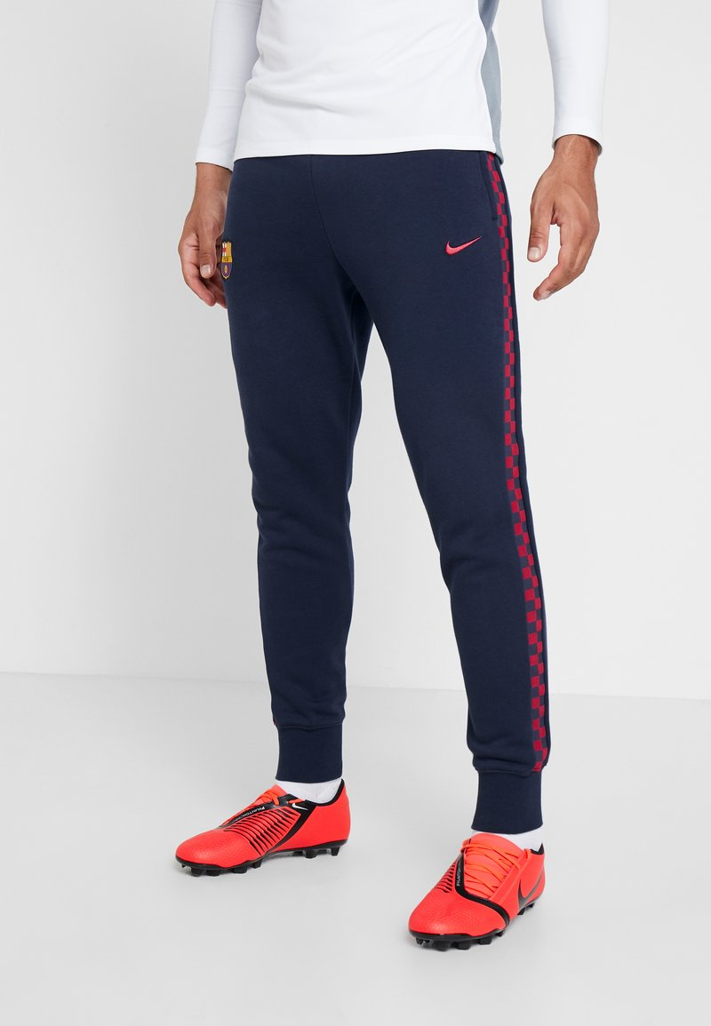Nike Performance - FC BARCELONA PANT  - Klubbkläder - obsidian/noble red