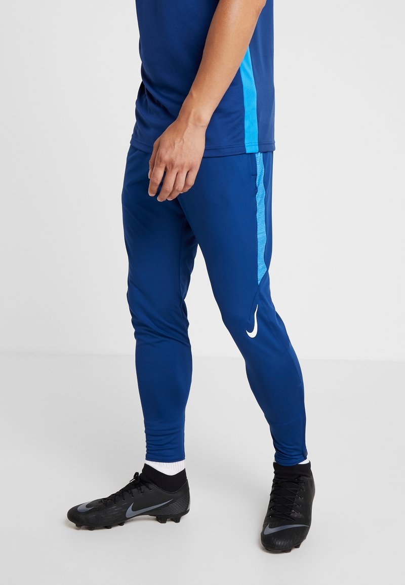 Nike Performance - DRY STRIKE PANT - Jogginghose - coastal blue/photo blue/white