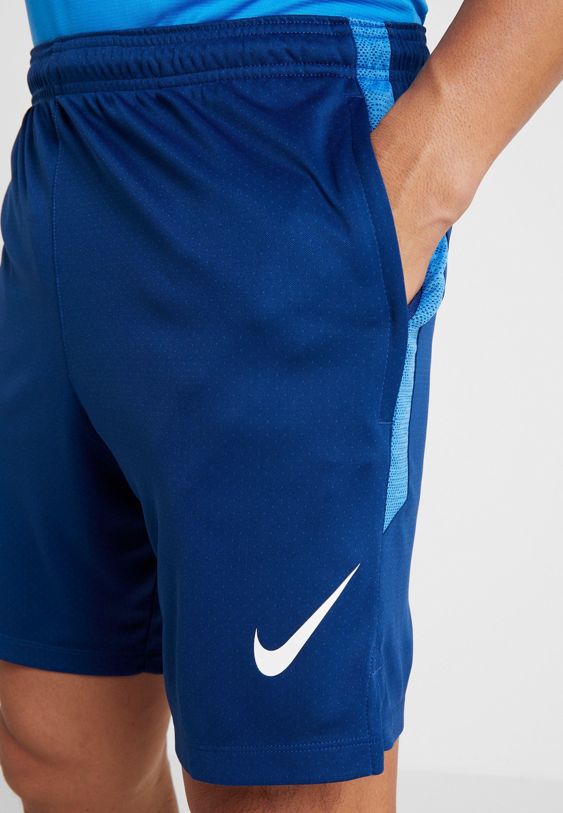 Nike Performance DRY SHORT - Krótkie spodenki sportowe - coastal blue/light photo blue/white