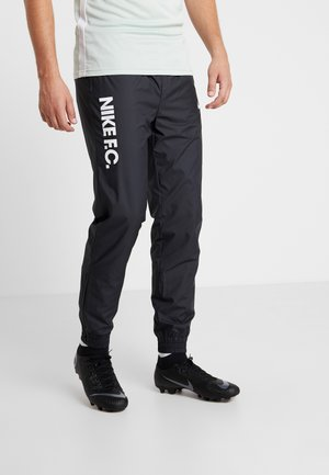 ALL DAY PANT - Tracksuit bottoms - black/white