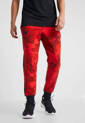 NBA CHICAGO BULLS CAMO SHOWTIME PANT - Club wear - university red/black