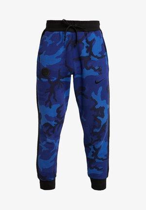 NBA GOLDEN STATE WARRIORS CAMO PANT - Joggebukse - rush blue/black