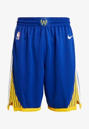 NBA GOLDEN STATE WARRIORS SWINGMAN SHORT - Sportovní kraťasy - rush blue/white/amarillo