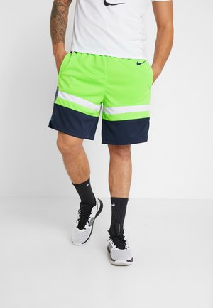NBA MINNESOTA TIMBERWOLVES SWINGMAN SHORT - Träningsshorts - action green/college navy