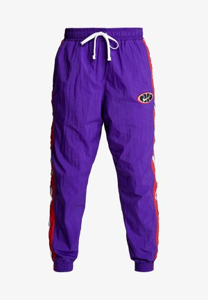 THROWBACK PANT  - Tracksuit bottoms - court purple/university red/white