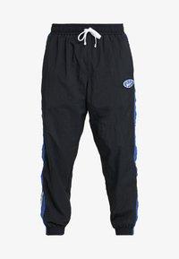 Nike Performance - THROWBACK PANT  - Pantalones deportivos - black/game royal - 4