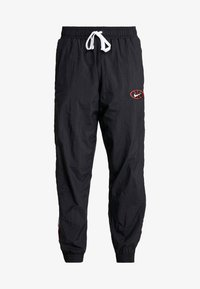 Nike Performance - THROWBACK PANT  - Tracksuit bottoms - black/white - 4