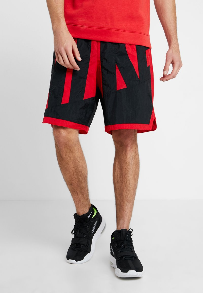 Nike Performance - DRY SHORT THROWBACK - Sports shorts - university red/black