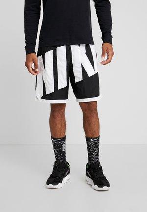 DRY SHORT THROWBACK - Pantalón corto de deporte - black/white
