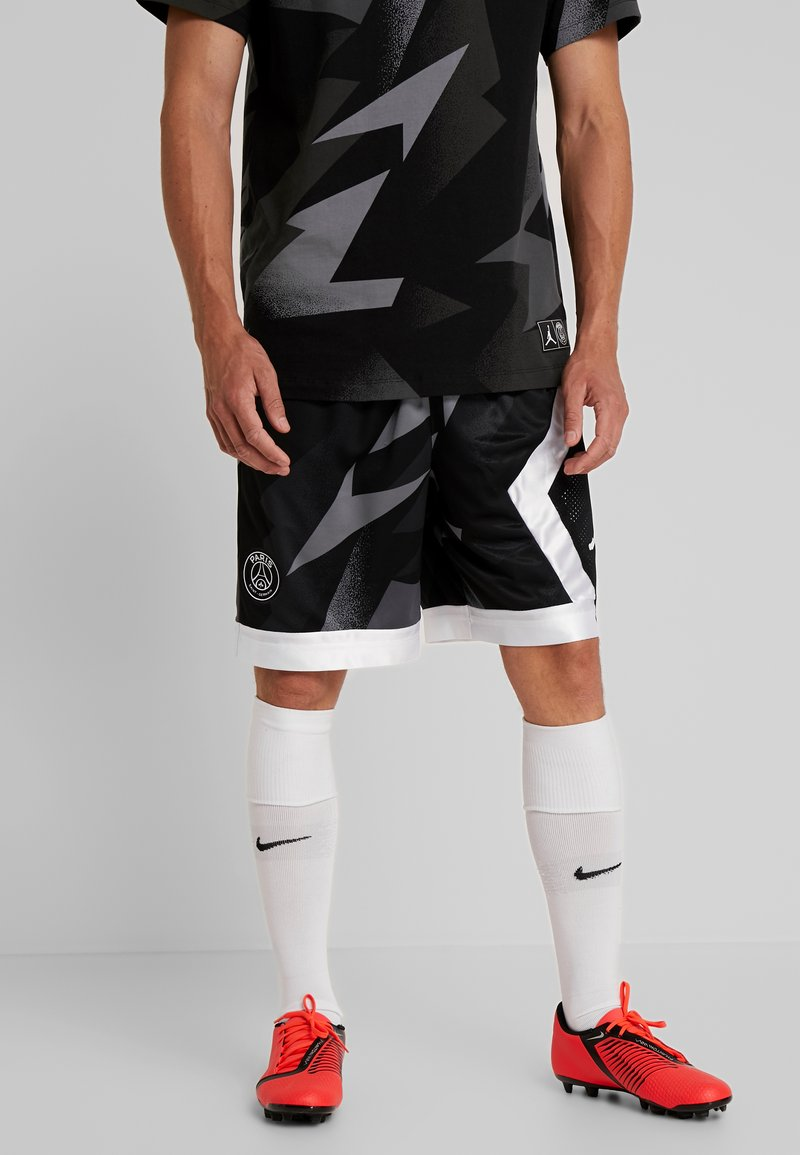 Nike Performance - CAT FC BLOCKED SHORT - kurze Sporthose - black