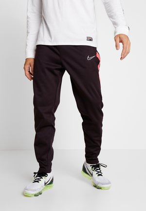 PANT  - Träningsbyxor - burgundy ash/racer pink/reflective silver