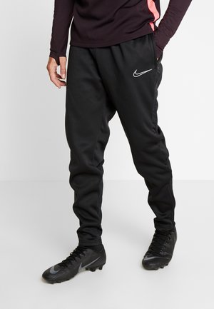 PANT  - Trainingsbroek - black/silver