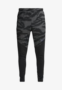Nike Performance - THERMA SHIELD STIRKE PANT - Tracksuit bottoms - black/anthracite - 5