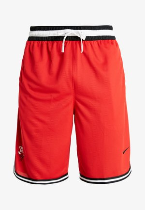 NBA CHICAGO BULLS DNASHORT - Korte broeken - university red/black/white