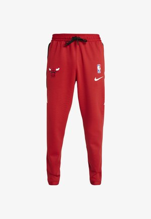 NBA CHICAGO BULLS THERMAFLEX PANT - Pantalones deportivos - university red/black/white