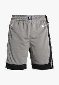 Nike Performance - NBA BROOKLYN NETS STATEMENT SHORT - Krótkie spodenki sportowe - dark steel grey/black/white - 5