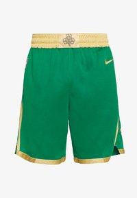 Nike Performance - NBA CITY EDITION BOSTON CELTICS - Korte broeken - clover/club gold/club gold - 3
